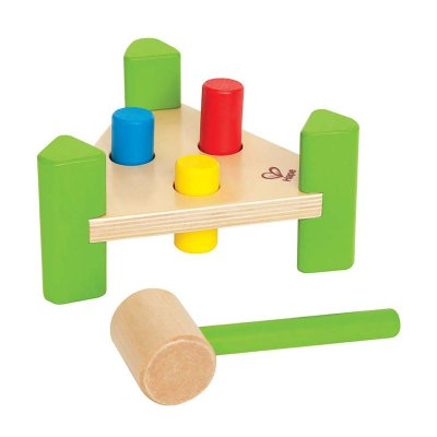 Hammering toy - cylinders