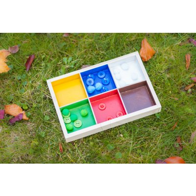 Colourful sorting box