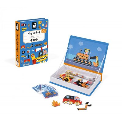 Magnetic book - CARS